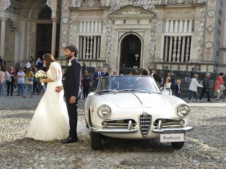 Alfa Romeo Giulietta Spider Hire Bergamo