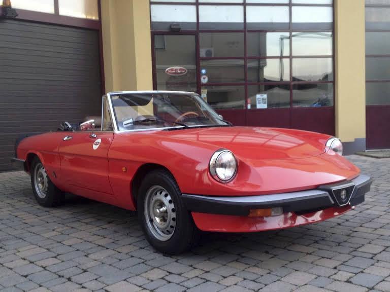 Alfa Romeo Duetto Aerodinamica Hire Padenghe Sul Garda