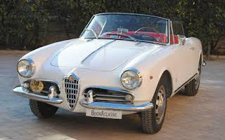 Alfa Romeo Giulietta Spider Rent Emilia-Romagna