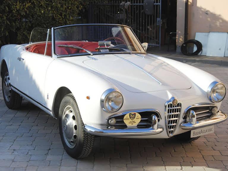 Alfa Romeo Giulietta Spider Hire Padenghe Sul Garda
