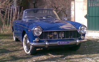 Fiat 1500 Cabriolet Rent Emilia-Romagna