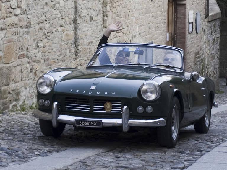 Triumph Spitfire TR3 Hire Padenghe Sul Garda
