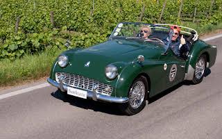 Triumph TR3 Rent Emilia-Romagna