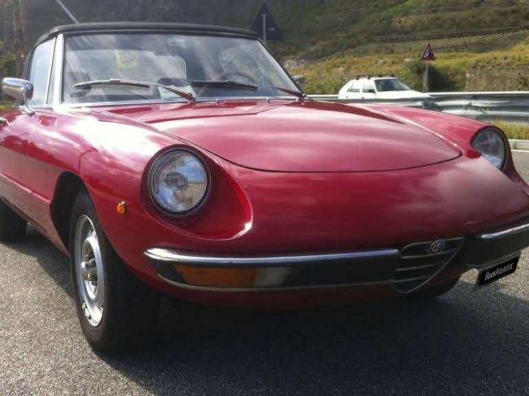 Alfa Romeo Duetto Hire Messina