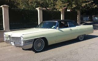 Cadillac Deville Convertibile Rent Lazio