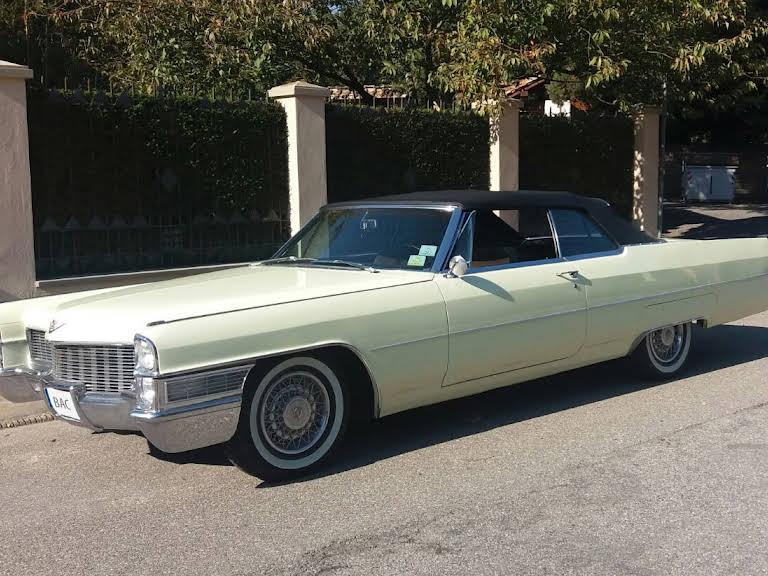 Cadillac Deville Convertibile Hire Fiesole