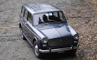 Fiat 1100 D Familiare Rent Liguria