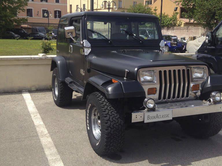 Jeep Wrangler Hire Roma