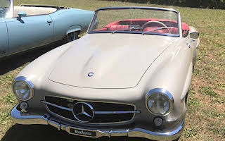 Mercedes Benz 190 Sl Rent Lazio
