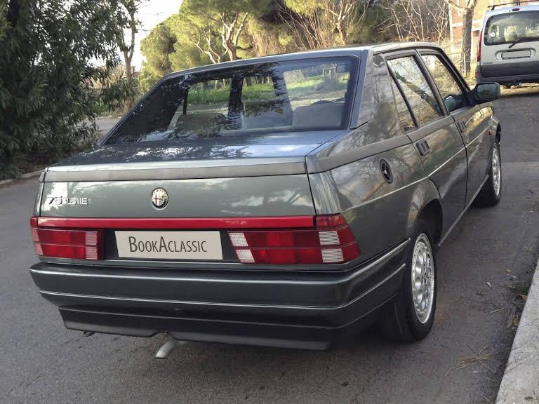 Alfa Romeo 75 Hire Roma