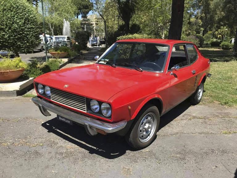 Fiat 128 Sl Coupè Hire Belpasso Ct