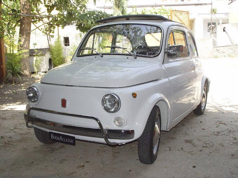 Fiat 500 Hire Pompei