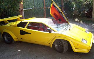 Lamborghini Countach Rent Campania