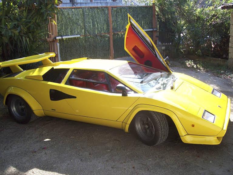 Lamborghini Countach Hire Pompei