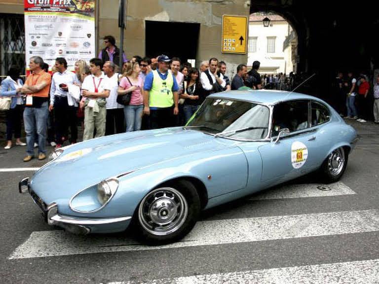 Jaguar E-type Hire Cernobbio