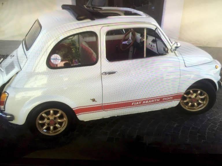 Fiat 500 Hire Milano