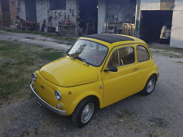 Fiat 500 R Hire Frosinone