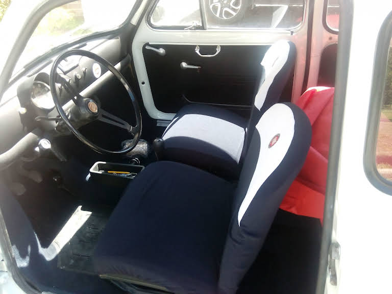 Fiat 500f Hire Roma