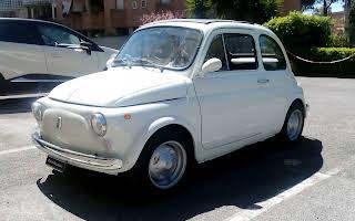 Fiat 500f Rent Lazio