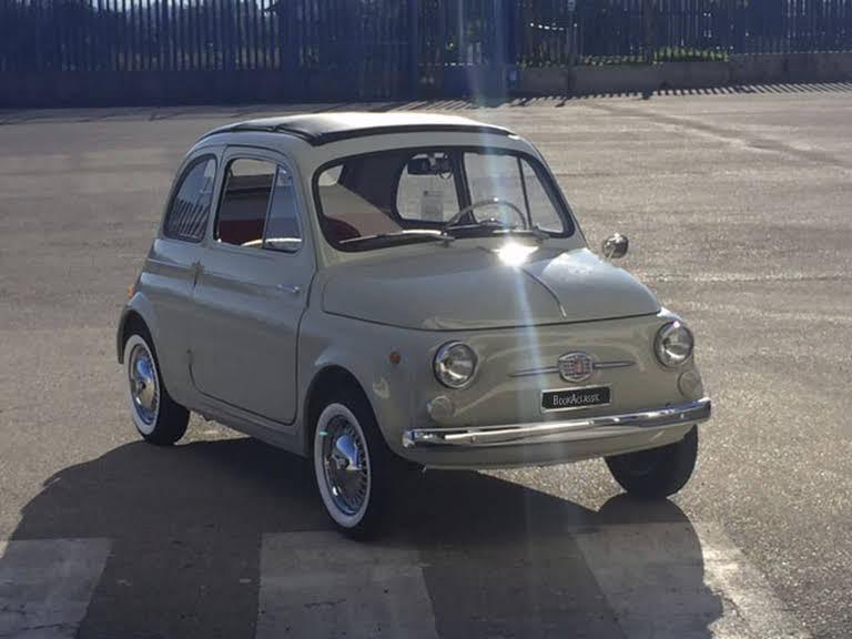 Fiat 500 F Hire Monterosi