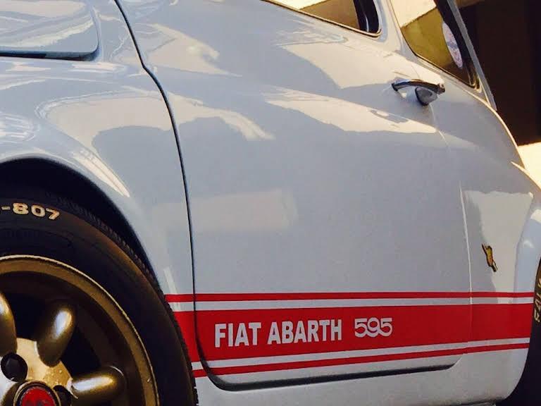Fiat 500 Abarth Hire Milano