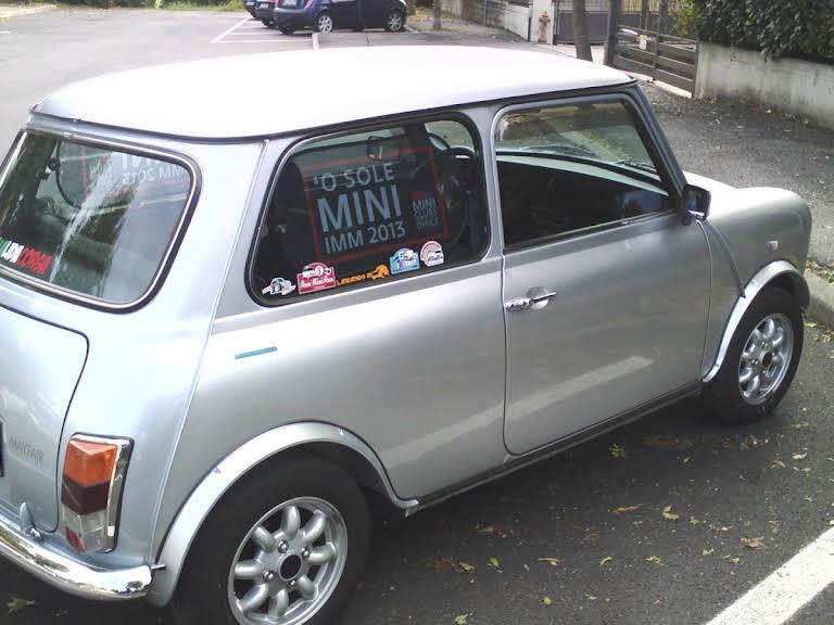 Austin Rover Mini Mayfair Hire Lissone