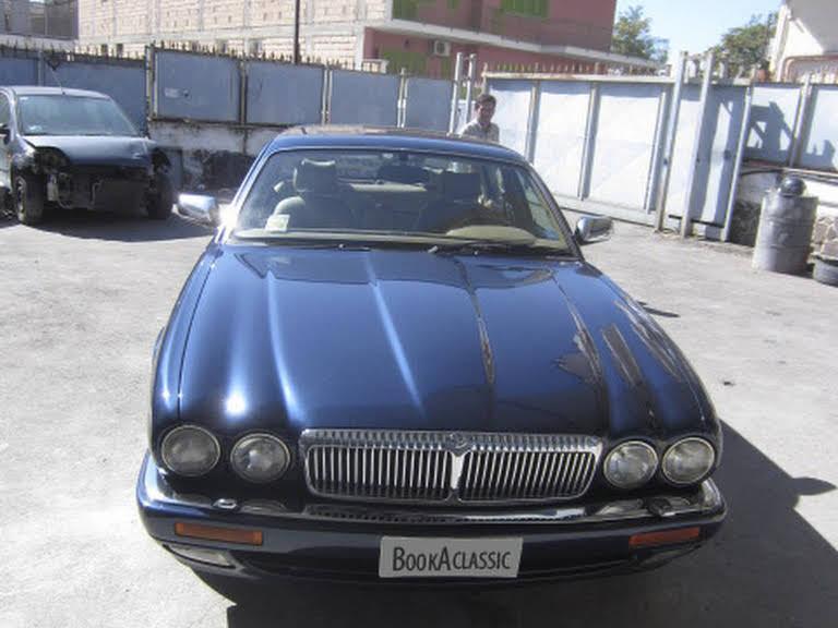 Jaguar Daimler Century Hire Pompei
