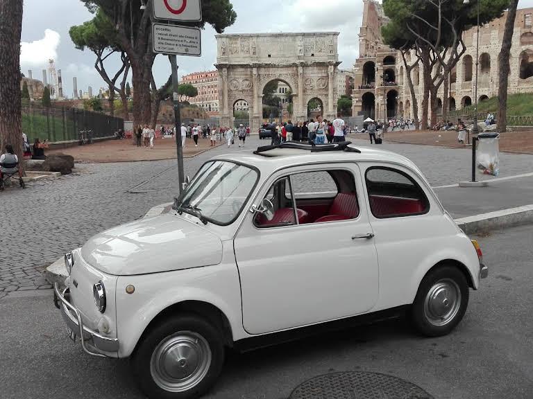 Fiat 500 L Hire Roma