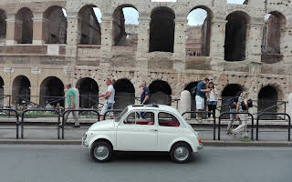 Fiat 500 L Rent Lazio