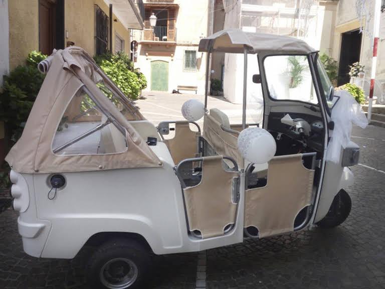 Piaggio Ape Calessino Hire Vallo Della Lucania